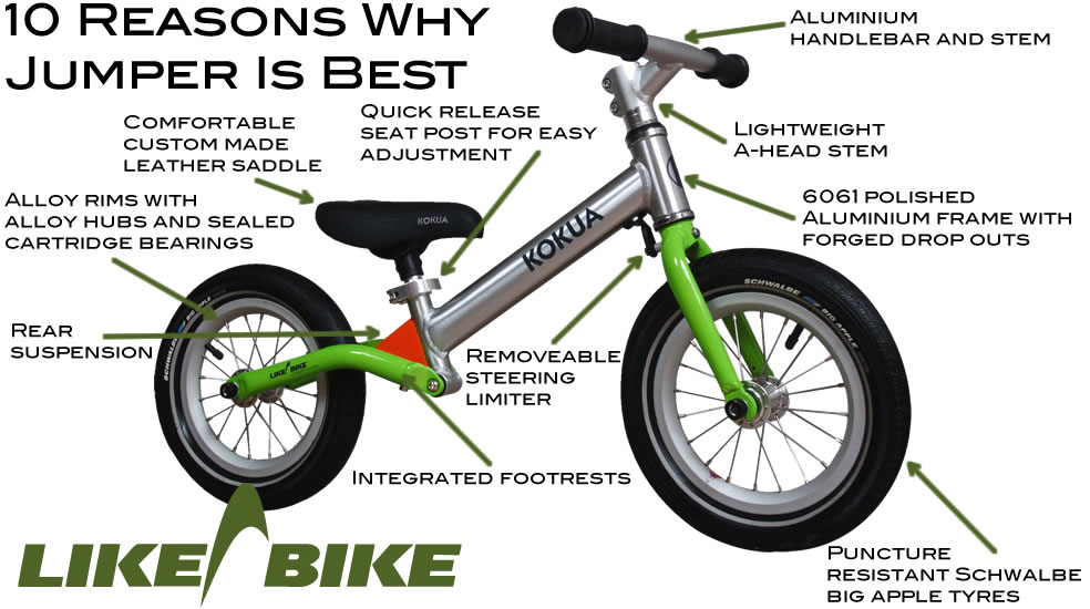 10 Reasons why LIKEaBIKE Jumper is the best!