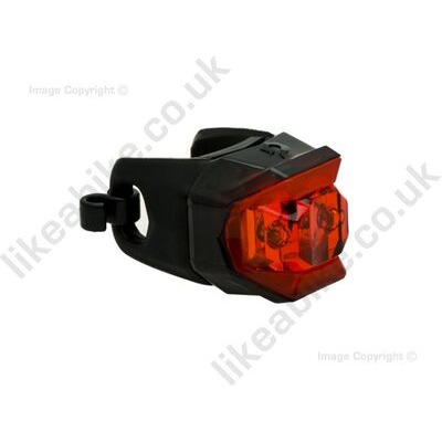 Blackburn The Click LED Light White Front  click to zoom image