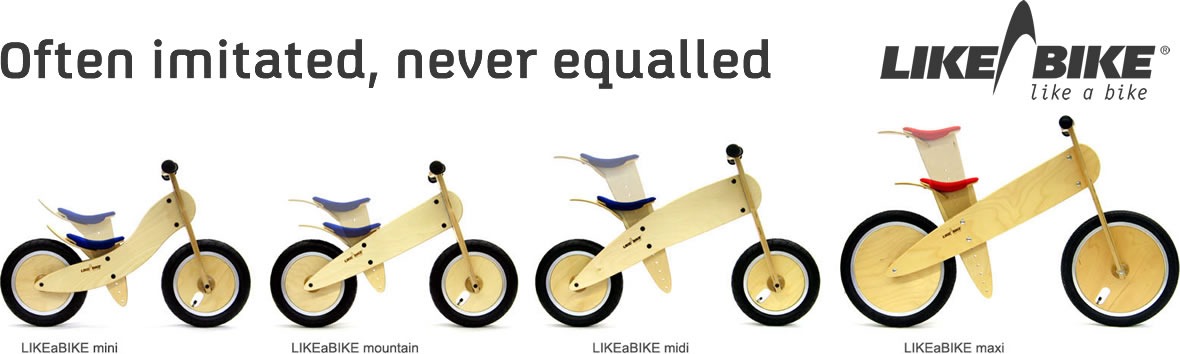 Balance Bikes Likeabike The Original And Best Balance Bikes